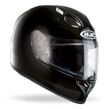 HJC FG-17 motocicleta cascos, color negro, tamaño XS