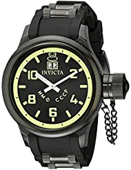 Invicta Mens 4338 Russian Diver Collection Black Watch