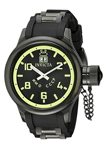 Invicta Men's 4338 Russian Diver Collection Black Watch ()
