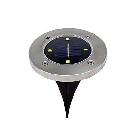 Amazon.com: xeduo LED Solar Powered luz de piso, 4 piezas ...