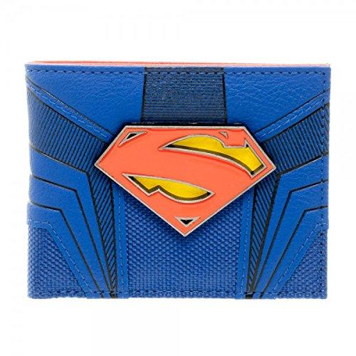 DC Comics Superman Suit Up Bifold Boxed (Authentic Superman Suit)
