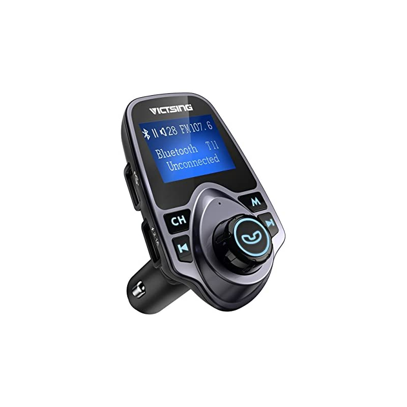 VicTsing Bluetooth FM Transmitter for Ca
