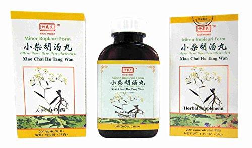 Minor Bupleuri Form - Xiao Chai Hu Tang Wan (Tang Hu Xiao Chai Wan)
