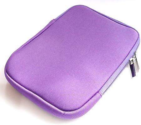 Emartbuy® Púrpura Resistente Neopreno Case Zip Soft Water/Cubierta ...