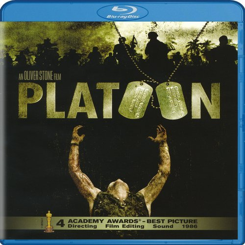 Blu-ray : Platoon (Digital Theater System, AC-3, Dolby, Dubbed, )