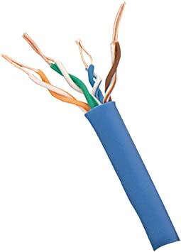 Bare Wire Bare Wire Steren 300-789BL UTP Cat.6 Cable Category 6-1000 ft
