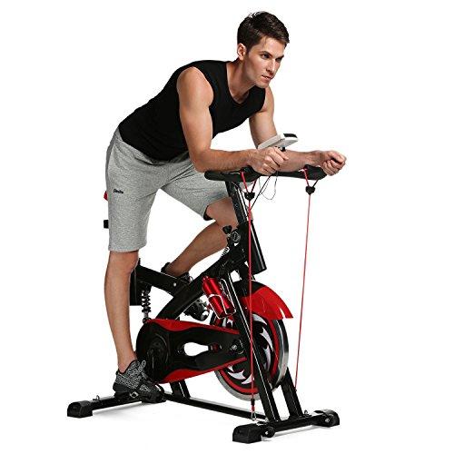ANCHEER Indoor Cycling Bike SP-4013 Ultra-Quiet Fitness