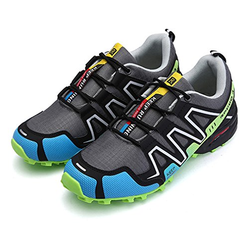 top Vert Sport Fonctionnement À De Escalade Course Pour 2 Randonnée Chic Chaussures Confortable Lacets Hommes Low Sneakers Outdoor fHawqx