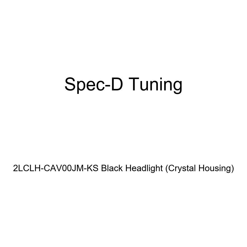 Spec-D Tuning 2LCLH-CAV00JM-KS Black Headlight Crystal Housing