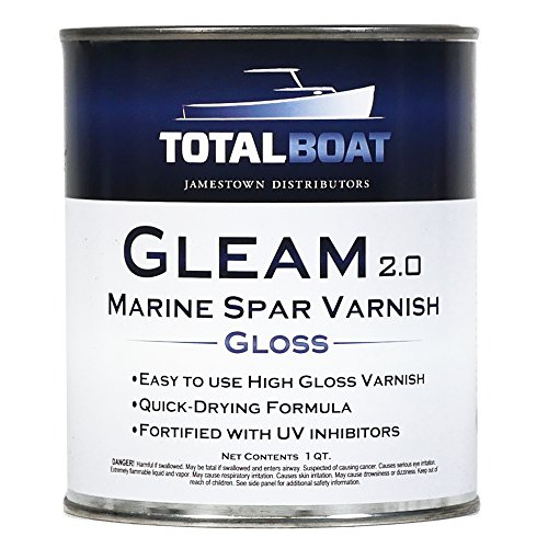 TotalBoat Gleam Spar Varnish (Clear Gloss Quart)