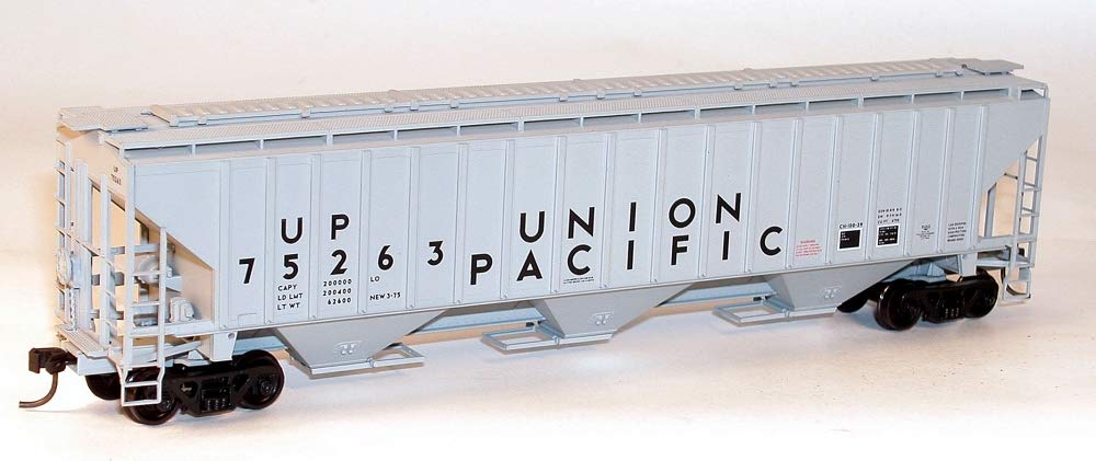 HO KIT PS-4750 3-Bay Covered Hopper, UP
