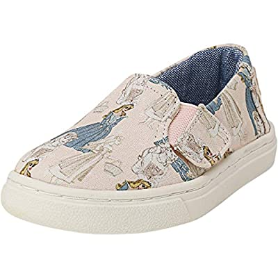 TOMS Luca Printed Canvas Ankle-High Slip-On Shoes