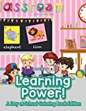 Best School Zone Coloring Books For Children - Learning Power!: A Day at School Coloring Book Review