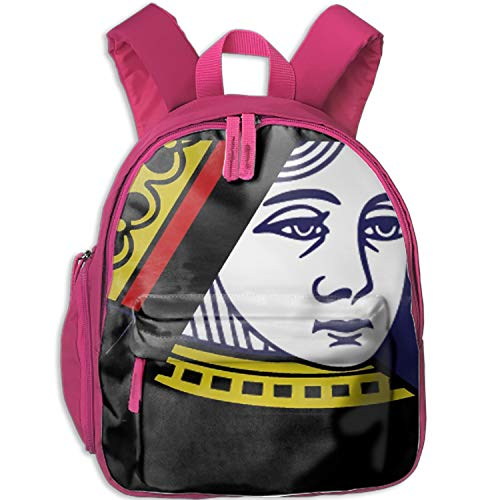 Poker Queen Backpacks for Boys & Girls with Straps for Boys Girls -