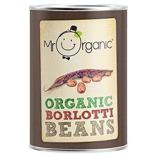 - Mr Organic Organic Borlotti Beans - 400g