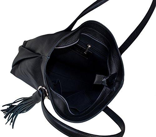 Shirin Sehan, Borsa a mano donna nero nero