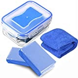 auto clay bar - MATCC Car Clay Bar 2Pack x180g Magic Clay Auto Detailing Clay Blue in Sealed Storage Box with Microfiber Cleaning Cloth