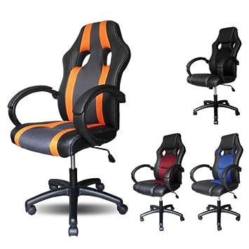 Vingo PU - Silla con muy alta calidad acolchado silla de oficina giratoria ergonómico comodidad: Amazon.es: Hogar