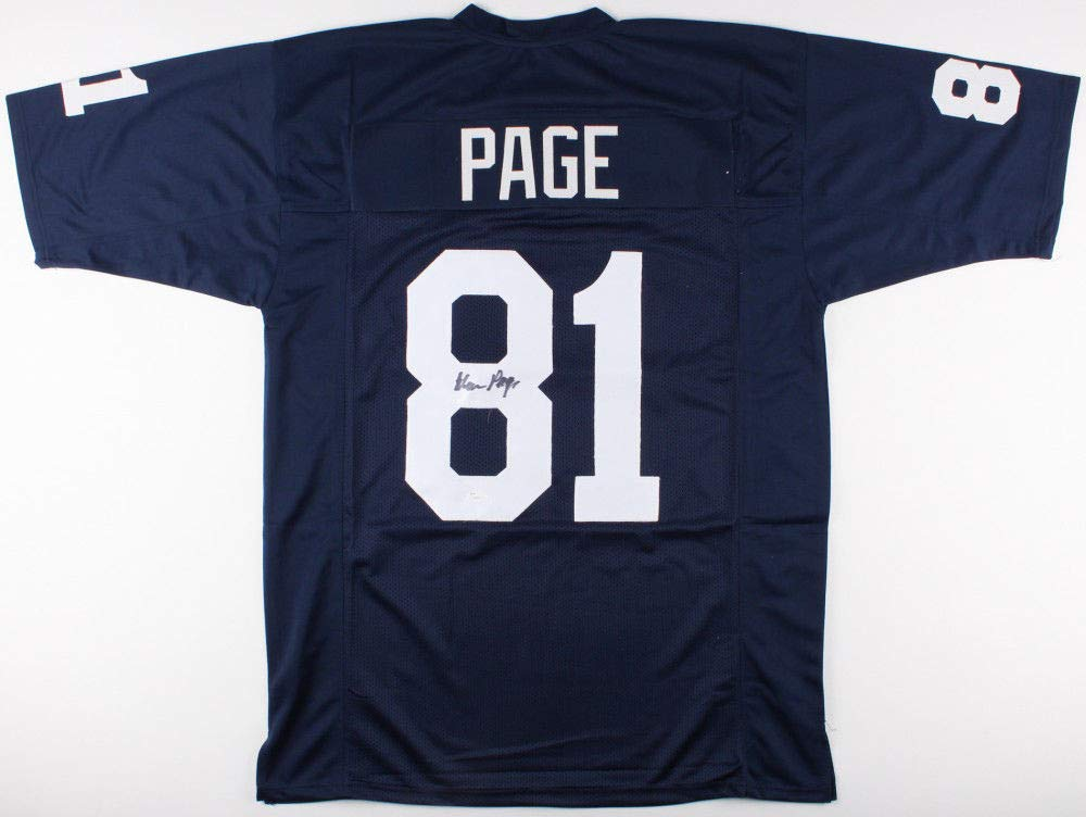 Alan Page Autographed Signed Notre Dame Fighting Irish Jersey Memorabilia -  JSA Authentic at Amazon s Sports Collectibles Store dde40d5e6