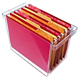 "Hanging File Organizer - holds 8.5"" x 11"" hanging file folders"