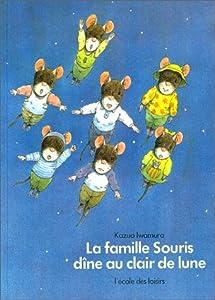 vignette de 'La Famille Souris dîne au clair de lune (Kazuo Iwamura)'