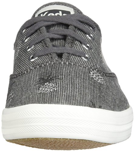 sale sneakernews Keds Womens Champion Pineapple Chambray Gray free shipping best free shipping latest collections latest cheap online cheap lowest price u7mo7Z