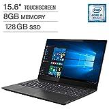 """Lenovo ideapad S340 - computadora portátil de 15,6"""" (procesador Intel Core i3-8145U de Doble núcleo, Memoria de 8 GB, Unidad de Estado sólido de 128 GB, Windows 10, Color Negro ónix 81N800H3US)"""