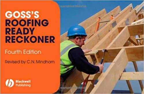 gosss roofing ready reckoner from timberwork to tiles