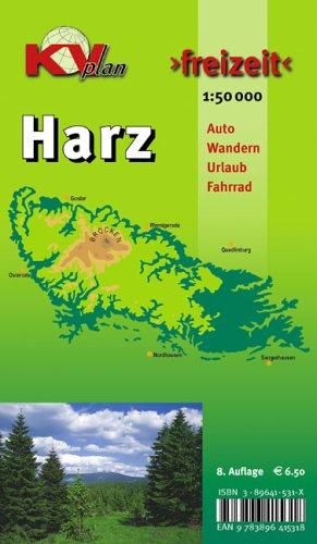 Harz: 1:50000. Der