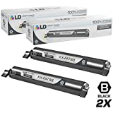 LD © Compatible Replacements for Panasonic KX-FAT88 Set of 2 Black Laser Toner Cartridges for use in Panasonic KX-FL421 Printer