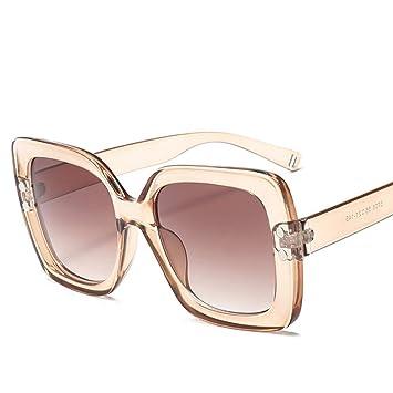 LETAM Gafas de sol Gafas de Sol extragrandes para Mujer ...