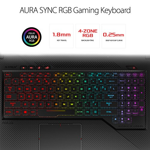 ASUS ROG Strix SCAR Edition Gaming Laptop, 17.3 120Hz Full HD 3ms, Intel Core i7-8750H, GeForce GTX 1050 Ti 4GB, 16GB DDR4, 256GB SSD + 1TB FireCuda, Windows 10, Gaming Mouse Included, GL703GE-IS74