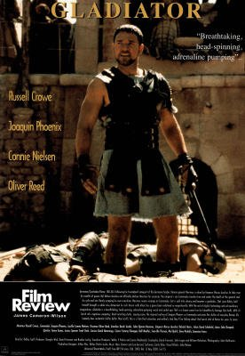 Gladiator Film Review Russell Crowe Joaqin Phoenix Movie Poster Print Poster Poster Print, ()