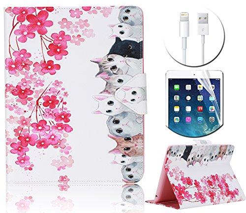 [해외]iPad 2 3 4 태블릿 지갑 케이스/iPad 2 3 4 Tablet Wallet Case