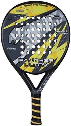 Slazenger Panther Ultra - Pala de pádel, color negro/amarillo ...