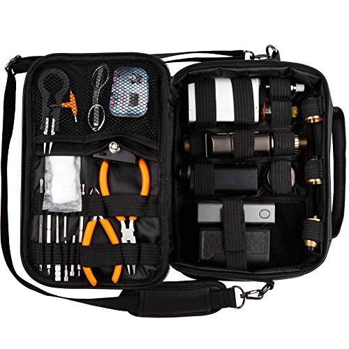 HUIZHU Multi-functional case carrying case va-pe carrying shoulder bag (Vape multi-function case)