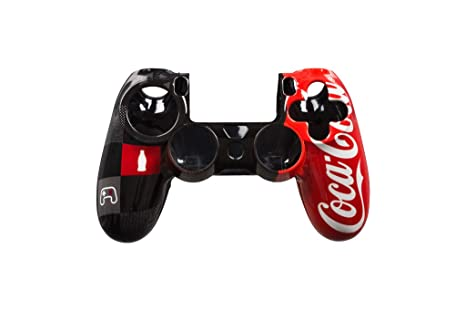 Indeca - Carcasa Mando Coca-Cola (PS4): Amazon.es: Videojuegos