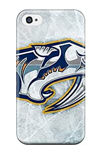 6764382K553220116 nashville predators (16) NHL Sports & Colleges fashionable iPhone 4/4s cases