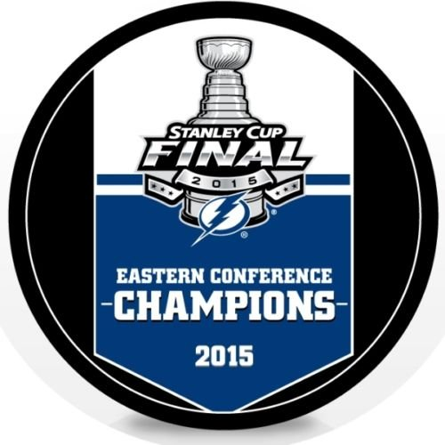 2015 Tampa Bay Lightning NHL Stanley Cup Eastern Conference Champions Hockey Puck ()