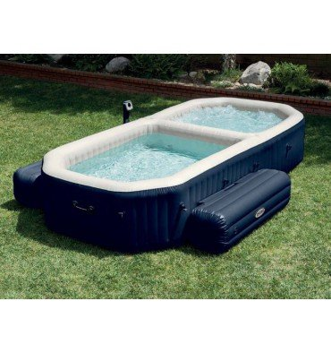 INTEX SPA Hinchable Pure SPA Plus con Piscina a Burbujas ...