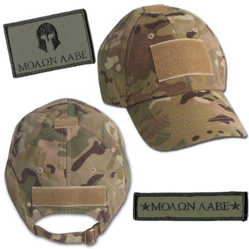 Amazon.com  Molon Labe Tactical Hat   Patch Bundle (2 Patches + Hat ... 59f76248944