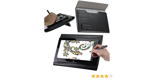 Broonel Luxury Leather Graphics Tablet Case with Built-in Ergonomic Stand Compatible with The Wacom Cintiq Pro 16