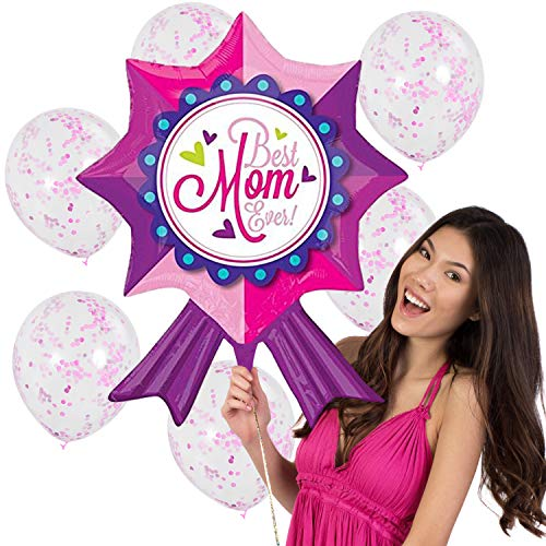 (Mothers Day Balloon Bouquet Kit - 7ct