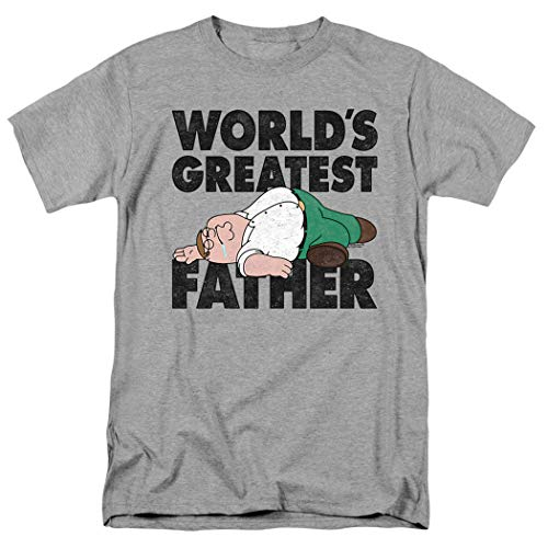 Family Guy Peter The Greatest Father Funny T Shirt & Stickers (Large)]()