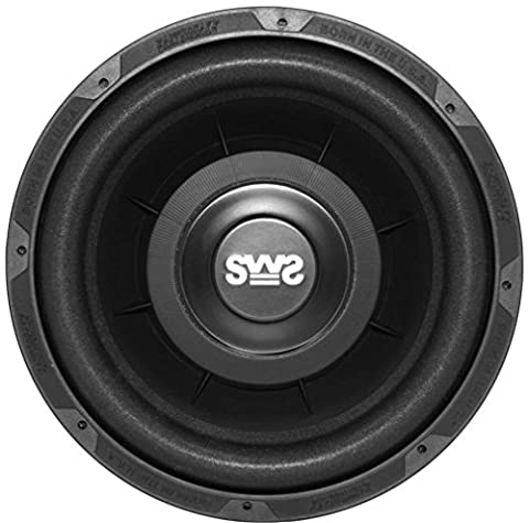 Earthquake Sound SWS-10X Shallow Woofer System 10-inch Car Subwoofer, 4-Ohm (Single) (Earthquake Shallow Subwoofer)