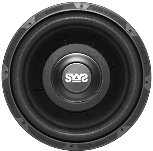 Earthquake Sound SWS-10X Shallow Woofer System 10-inch Car Subwoofer, 4-Ohm (Single) (10 Inch Earthquake Subwoofer)