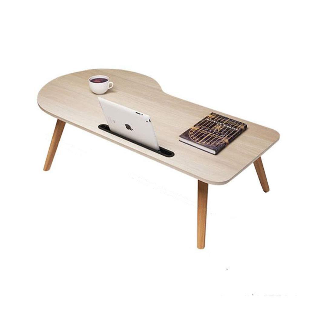 ラップトップのベッドテーブルデスク折りたたみ式ポータブル木製朝食トレイリーディングホルダーフロアキッズ (サイズ さいず : 90cm) 90cm  B07KPBTW3S