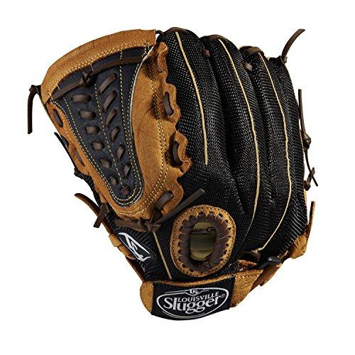 Louisville Slugger 12-Inch FG Genesis Baseball Infielders Gloves, Brown, Left Hand Throw (Glove Louisville)