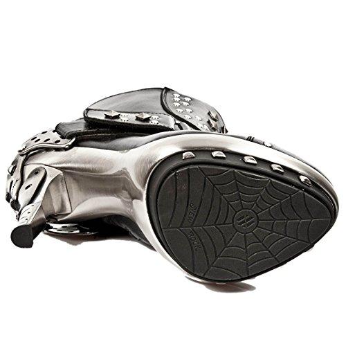 Boots Punk Rock M C1 Newrock Black New Gothic punk003 Exclusive Range Smart 6PwzRR
