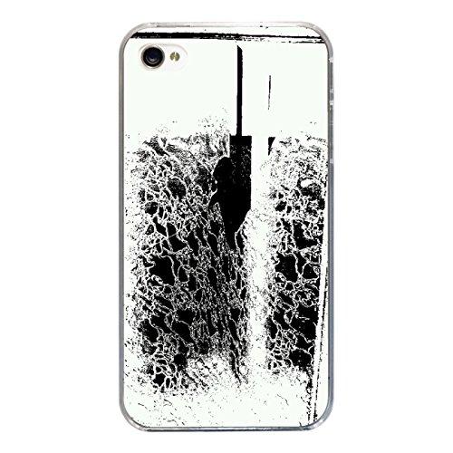 "Disagu Design Case Coque pour Apple iPhone 4s Housse etui coque pochette ""Black and White"""